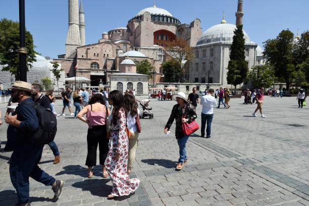 hagia sophia - wiedenmeier istanbul stock-fotos und bilder