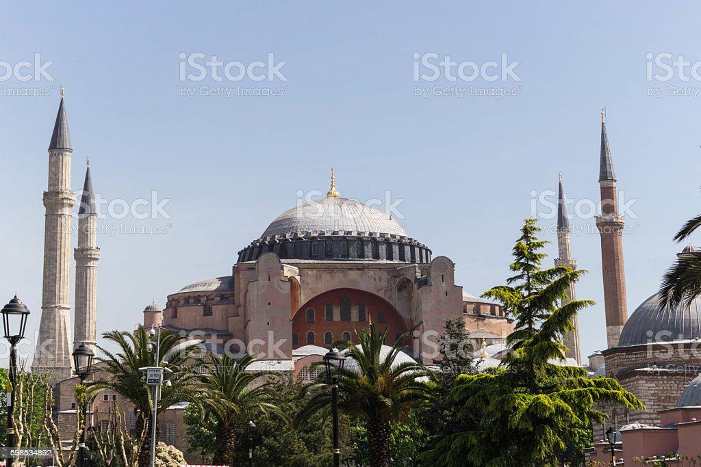 Basilique Sainte-Sophie  photo libre de droits