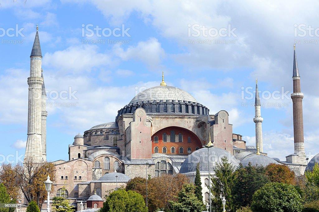 Hagia Sofia - Zbiór zdjęć royalty-free (Architektura)