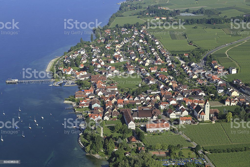 Hagnau - Lake Constance/Germany stock photo