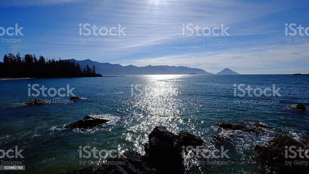 Haida Gwaii stock photo