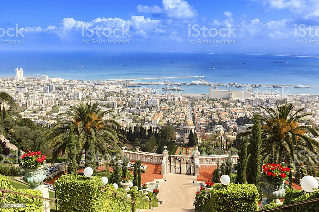Haifa, Israel stock photo