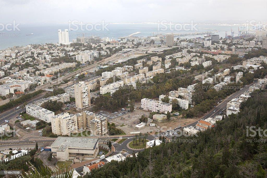 Haifa. royalty-free stock photo