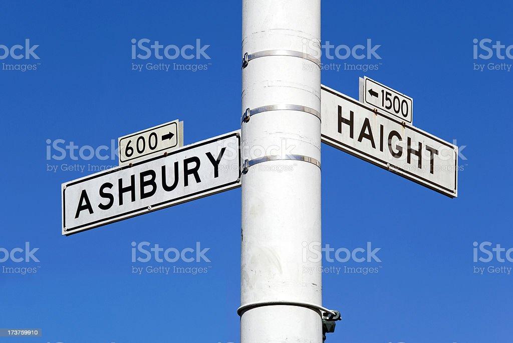 Haight Ashbury stock photo