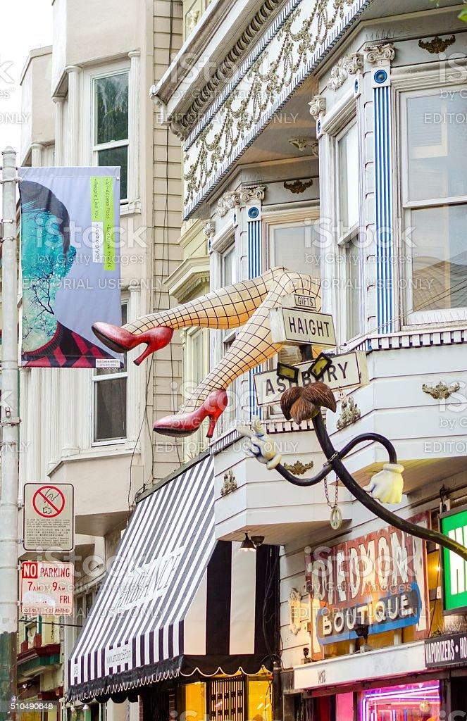 Quartier de Haight-Ashbury à San Francisco - Photo