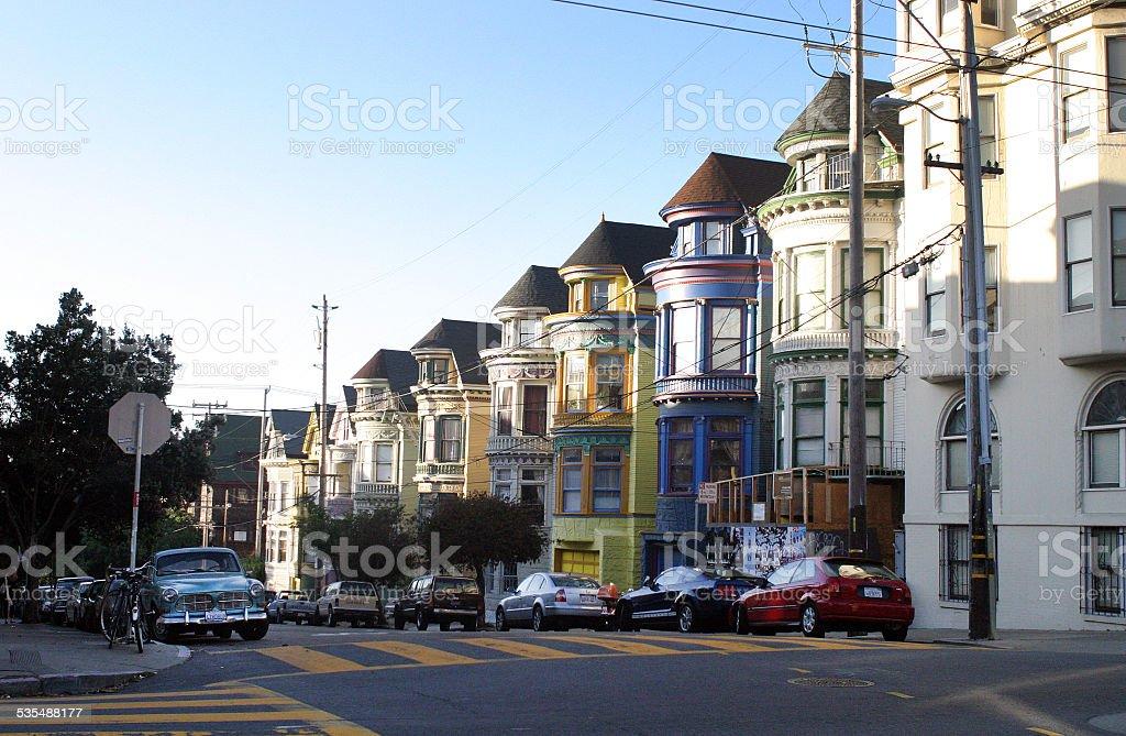 Haight-Ashbury Neighborhood, San Francisco stock photo