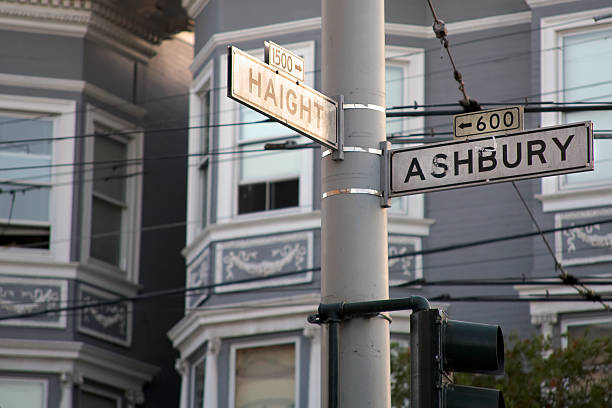 Haight-Ashbury stock photo