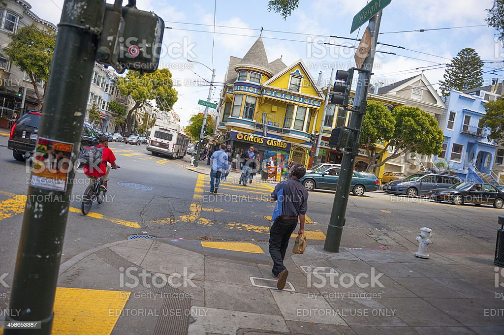 Haight-Ashbury, San Francisco stock photo
