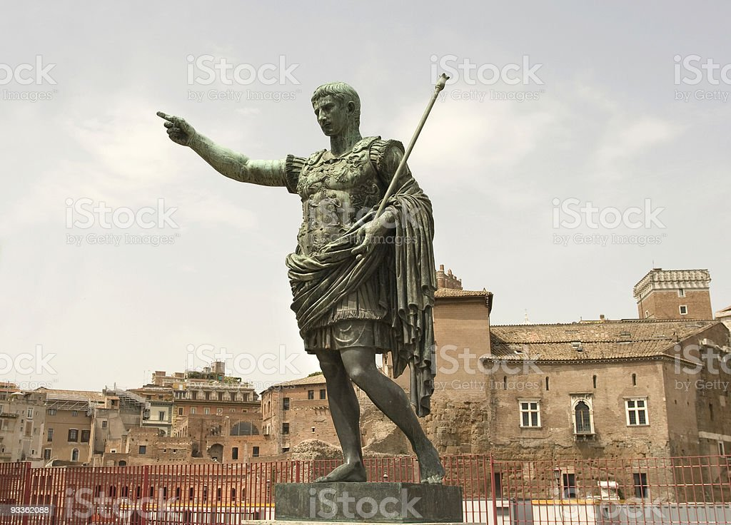 Hail Augustus stock photo