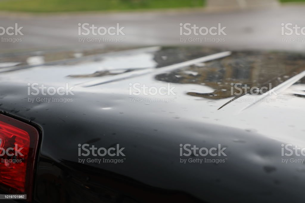 Hail Damage To Truck Stock Photo Download Image Now Istock