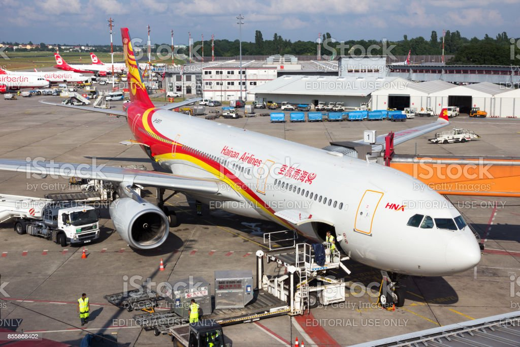 Hainan Airlines Airbus A330 stock photo