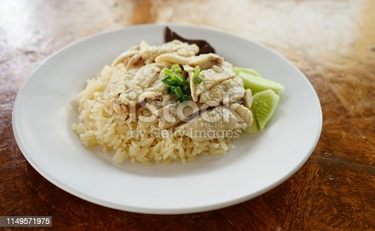 Thailand, Chicken Meat, Rice - Food Staple, Asian Food, Boiled