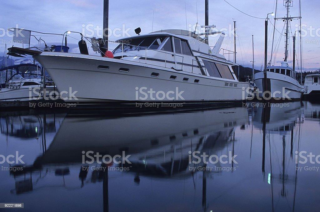 Haines Marina, Alaska royalty-free stock photo