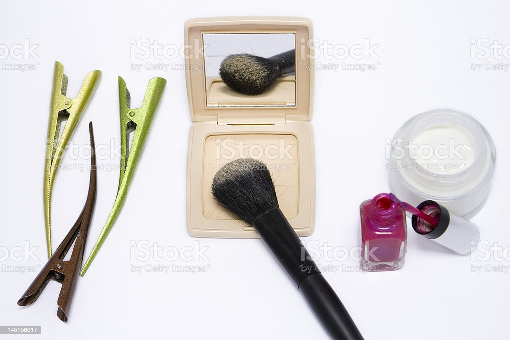 Hair and Beauty royalty-free stock photo