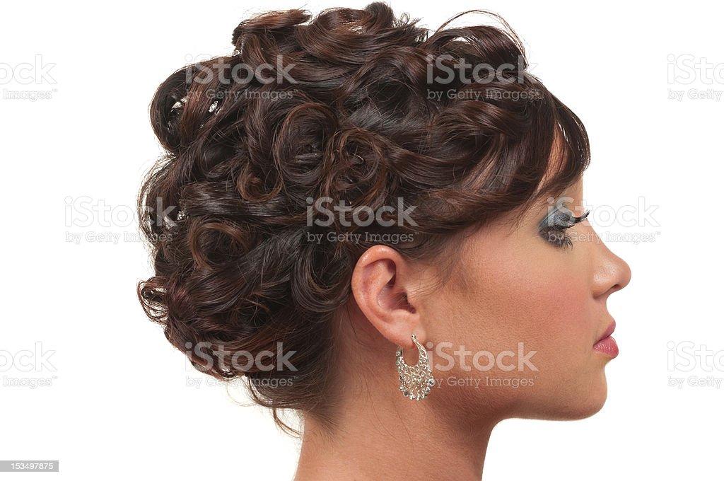 Hair And Make Up royalty-free stock photo