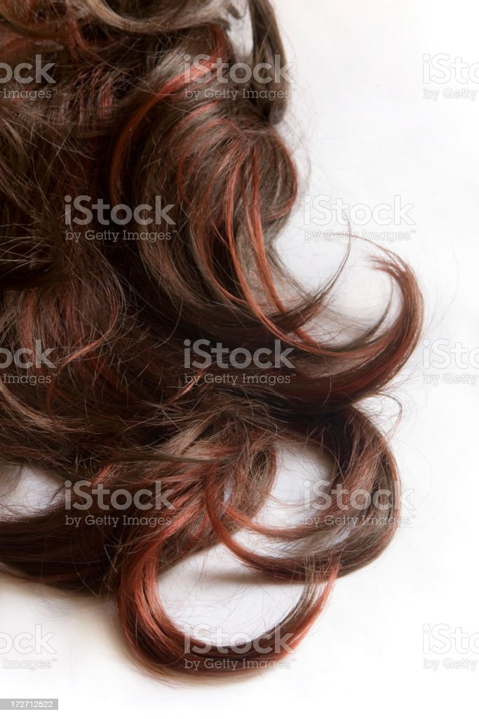 Hair background royalty-free stock photo