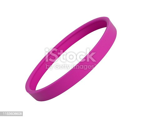 hair band on white background