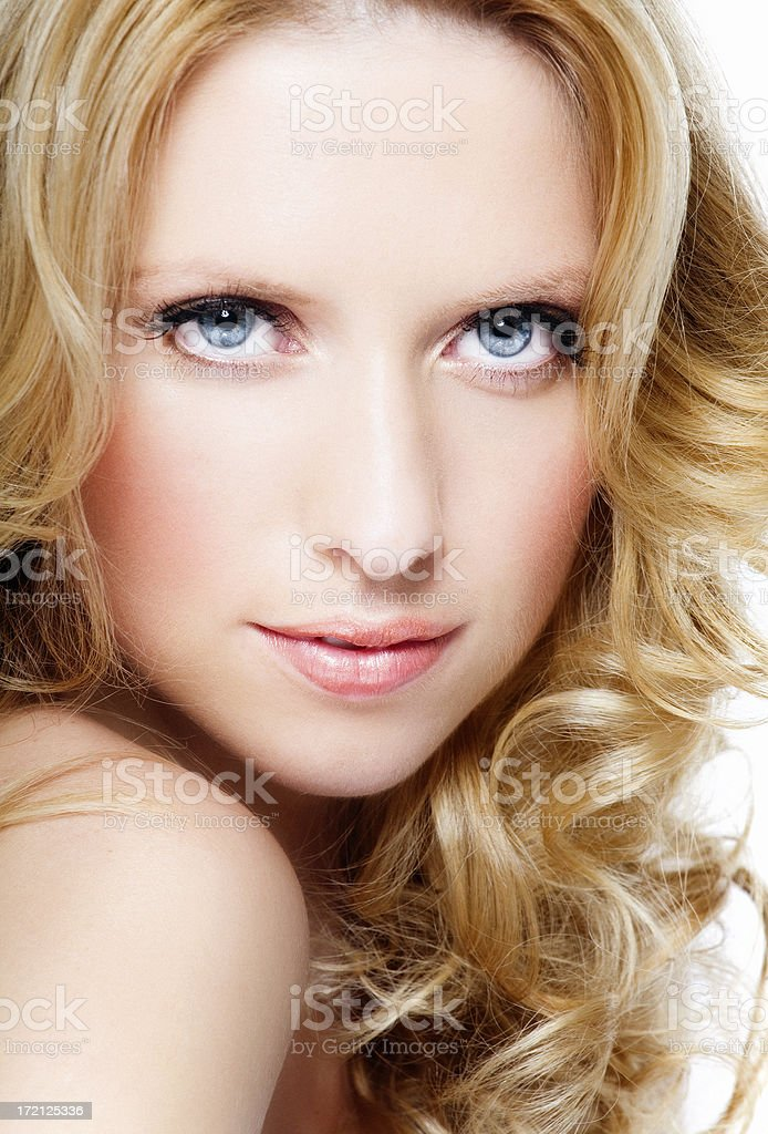 Hair Beauty royalty-free stock photo