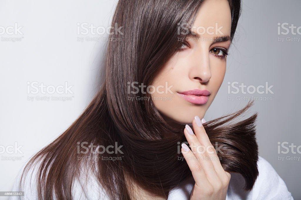 Belleza de pelo - foto de stock