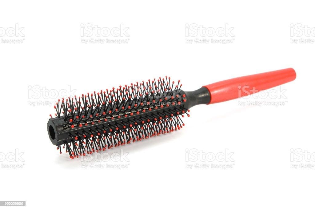 hair brush isolated on white background - Royalty-free Barber Stock Photo