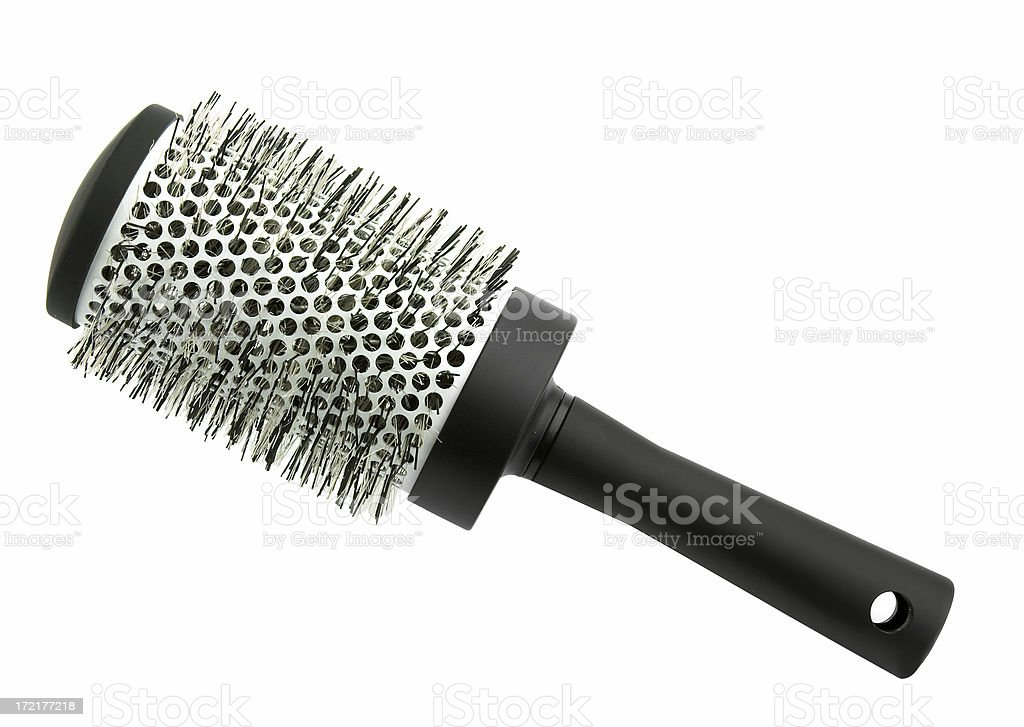 Hair brush (professional) royalty-free stock photo