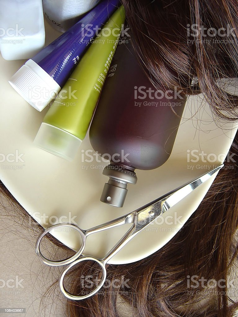 Hair Care 2 royalty-free stock photo