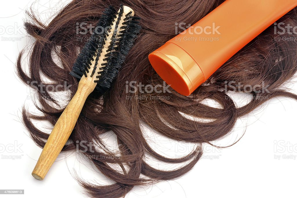hair care royalty-free stock photo