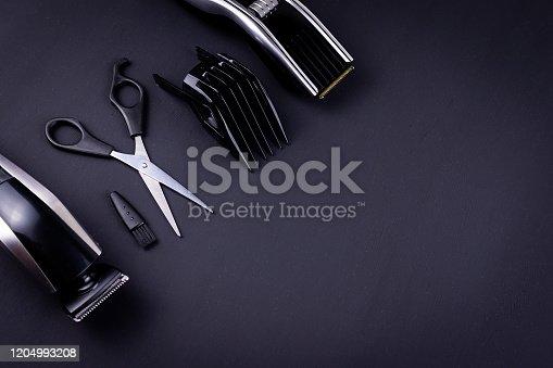 1147090180 istock photo hair clipper black background 1204993208