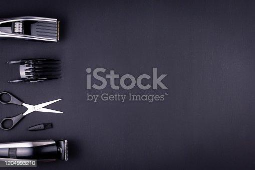 1147090180 istock photo hair clipper black background 1204993210