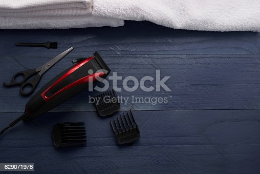 626488516istockphoto Hair Clipper in the salon 629071978