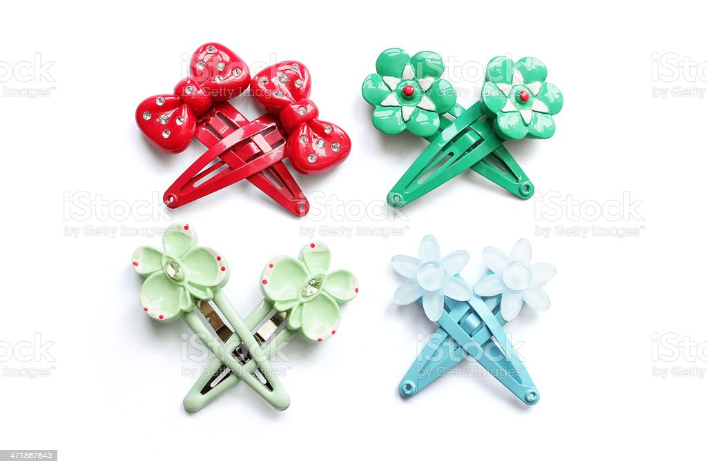 Hair Clips royalty-free stock photo
