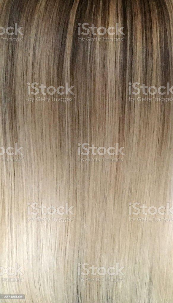 color del cabello - foto de stock
