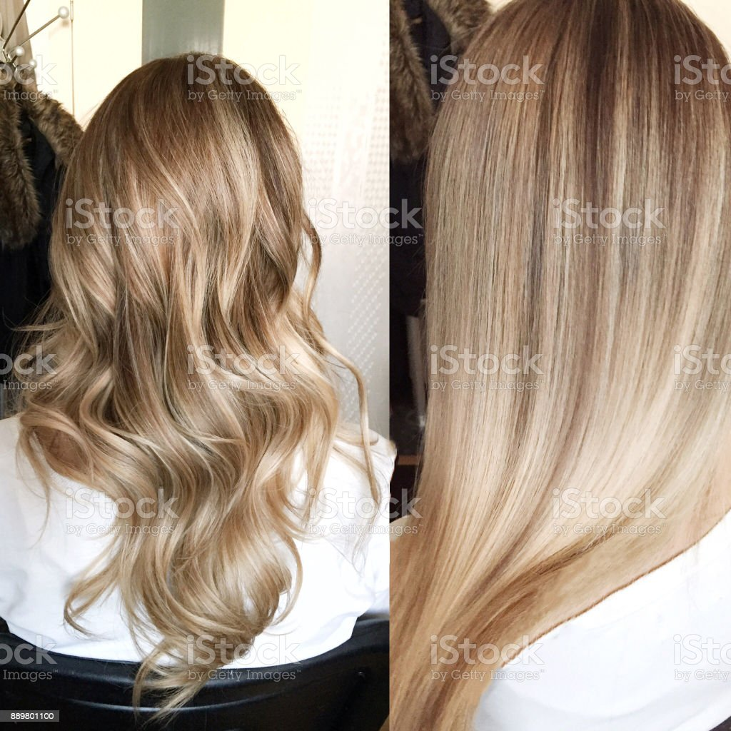 hair color stock photo