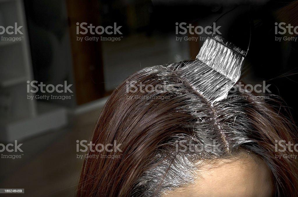 Haare färben im hairstudio – Foto