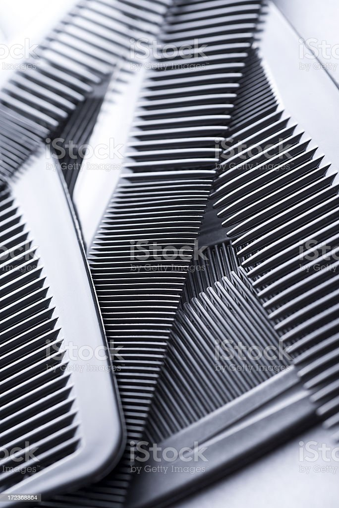 Hair Combs royalty-free stock photo