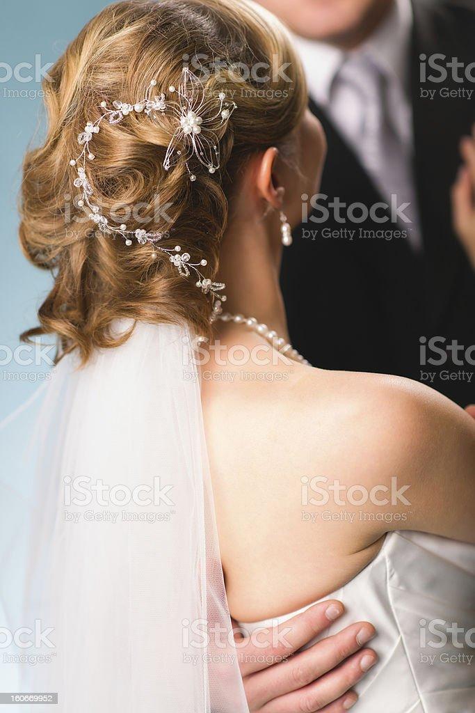 Hair decoration royalty-free stock photo