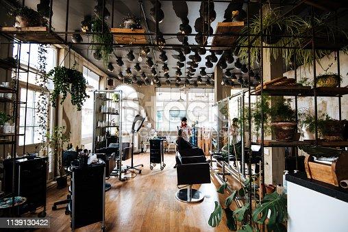 istock Hair dresser is entrepreneur developing her small business 1139130422