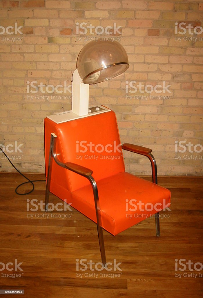 hair dryer royalty-free stock photo