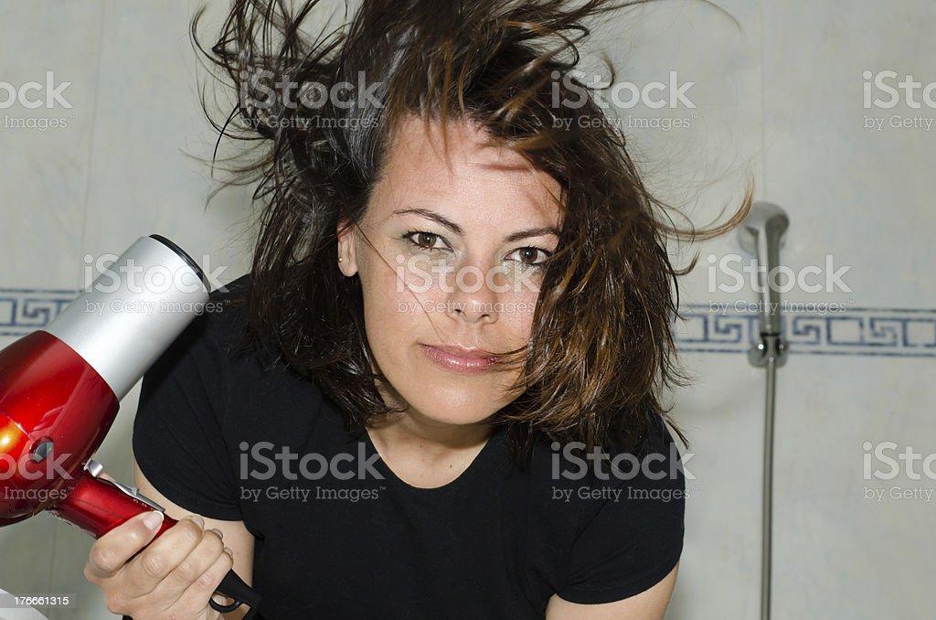 Hair dryer royalty-free stock photo