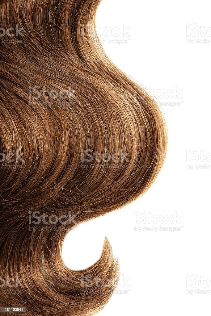 hair extension stock photo