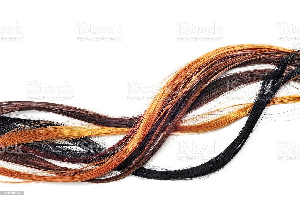 Prolongamento de cabelo - foto de acervo