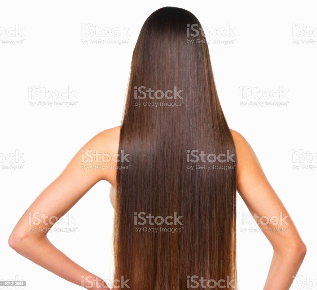 Hair goals stock photo