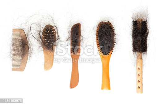 istock Hair loss problem 1134193975