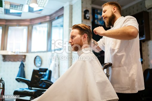 986804130istockphoto Hair mustache beard treatment 844120902