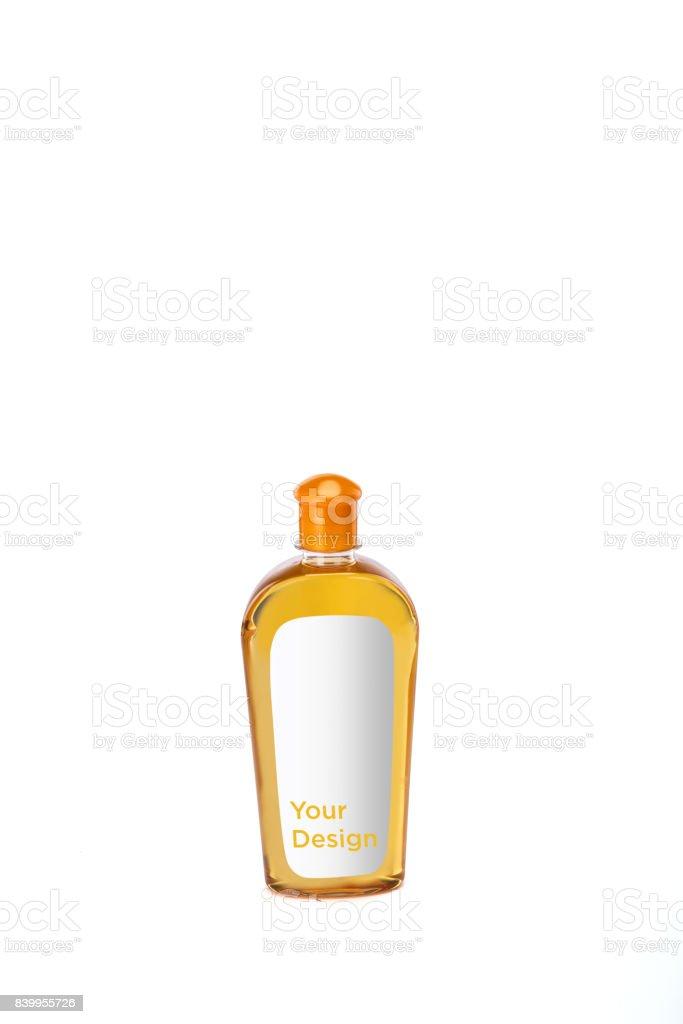 Download Hair Oil Bottle Mockup On White Background Stock Photo ... Free Mockups