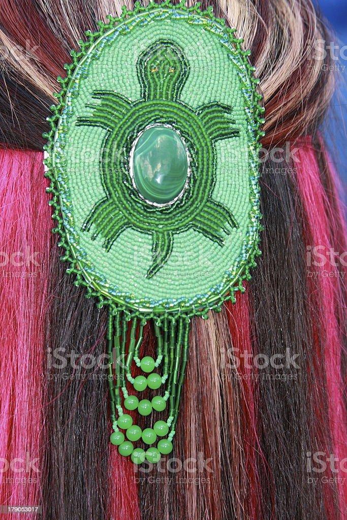Hair ornament stock photo