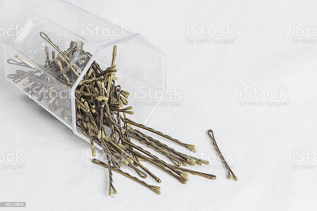 Hair Pins stock photo