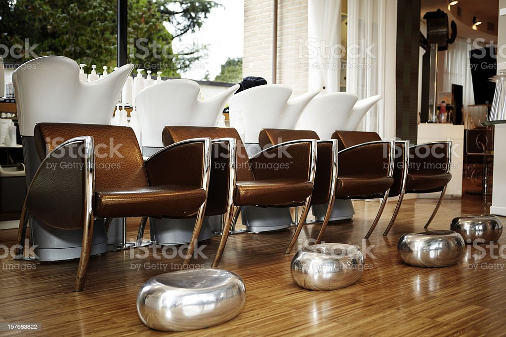 Hair Salon. Color Image royalty-free stock photo