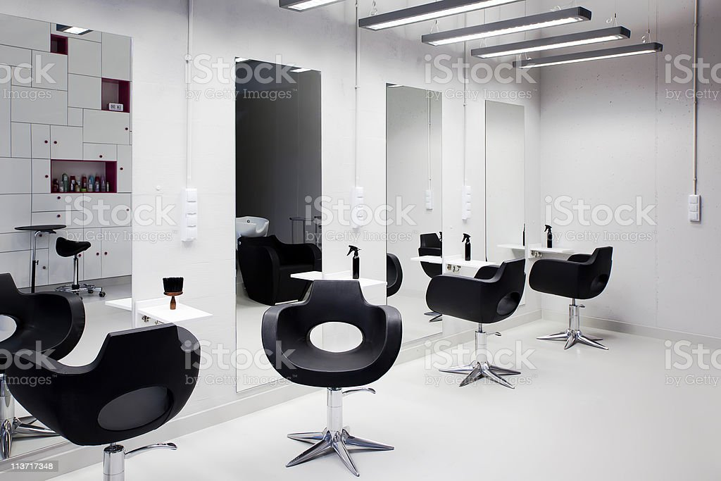 Hair salon stock photo