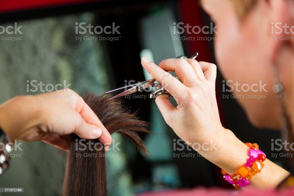 Hair Salon royalty-free stock photo